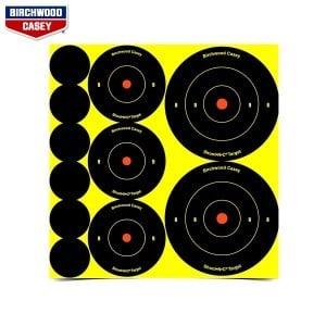BIRCHWOOD CASEY CIBLES SHOOT-N-C 132PCS 34608