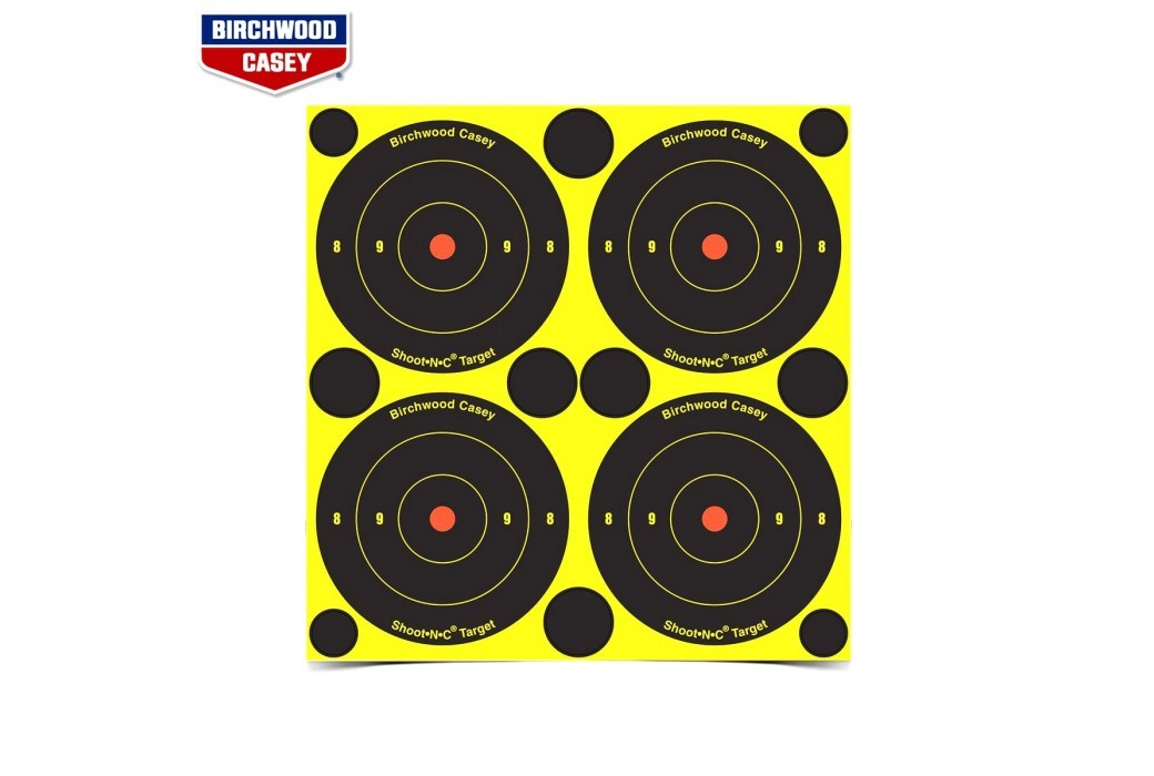 BIRCHWOOD CASEY CIBLES SHOOT-N-C 168PCS 34315