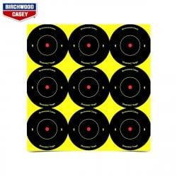 BIRCHWOOD CASEY CIBLES SHOOT-N-C 108PCS 34210