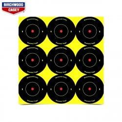 méchant NOIR//papier jaune cible 5 Pack Birchwood Casey EZE-meilleur buteur 23 X 35 in environ 88.90 cm