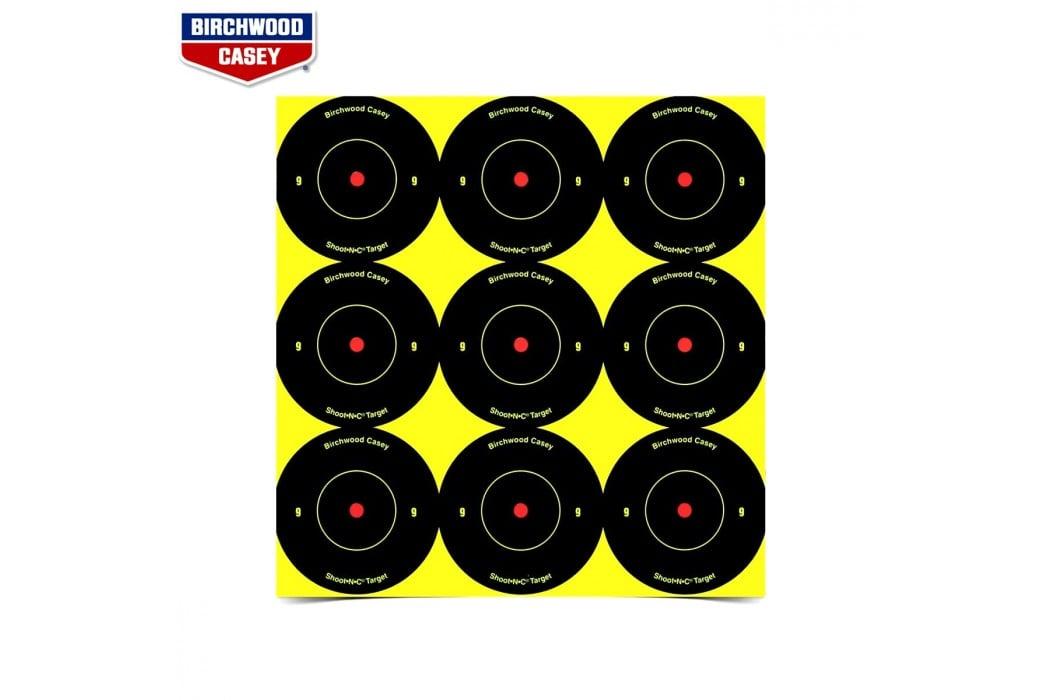 BIRCHWOOD CASEY SHOOT-N-C TARGETS 108PCS 34210