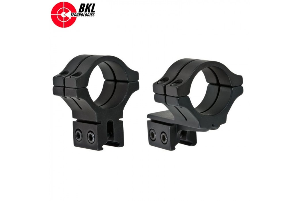 BKL 302 TWO-PIECE MOUNT OFF-SET 30mm 9-11mm