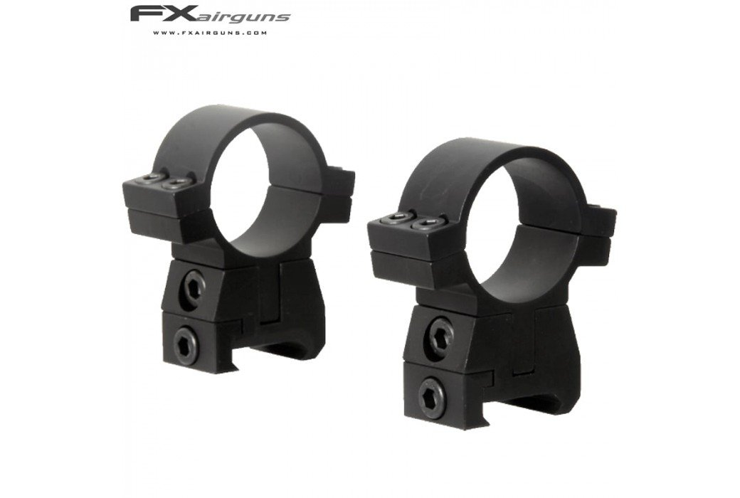 FX NO LIMIT Two-Piece Mount 30mm WEAVER PICATINNY ADJUSTABLE ELEVATION