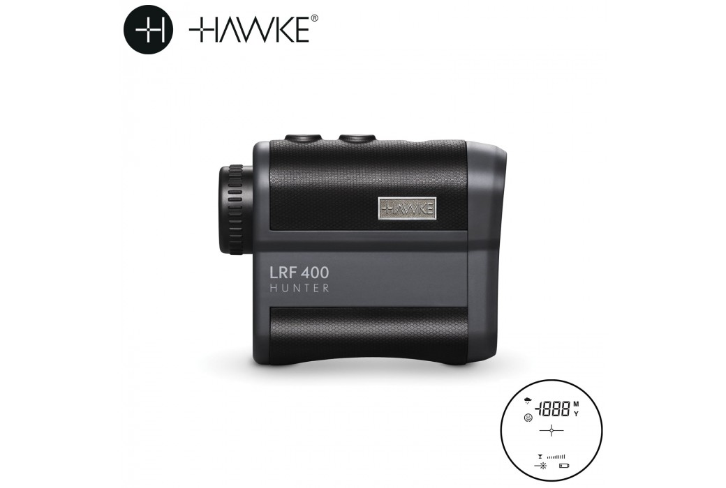 TELEMETRO HAWKE LASER RANGE FINDER HUNTER COMPACT 400