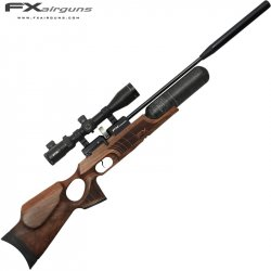 CARABINE PCP FX ROYALE 400 REGULATED WALNUT CARBON FIBER CYLINDER