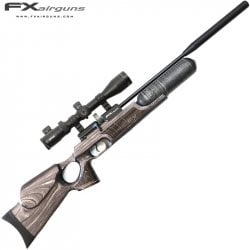 PCP AIR RIFLE FX ROYALE 400 REGULATED LAMINATE CARBON FIBER CYLINDER
