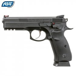 AIR PISTOL ASG CZ SHADOW SP-01 BLOWBACK FULL METAL