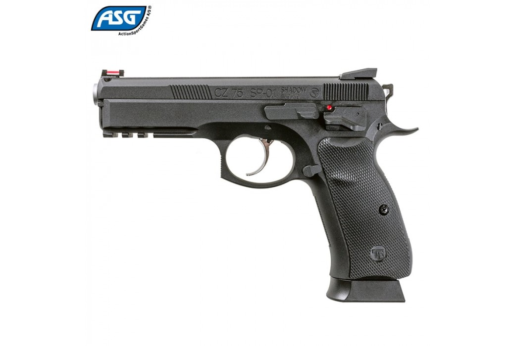 PISTOLA ASG CZ SHADOW SP-01 BLOWBACK FULL METAL