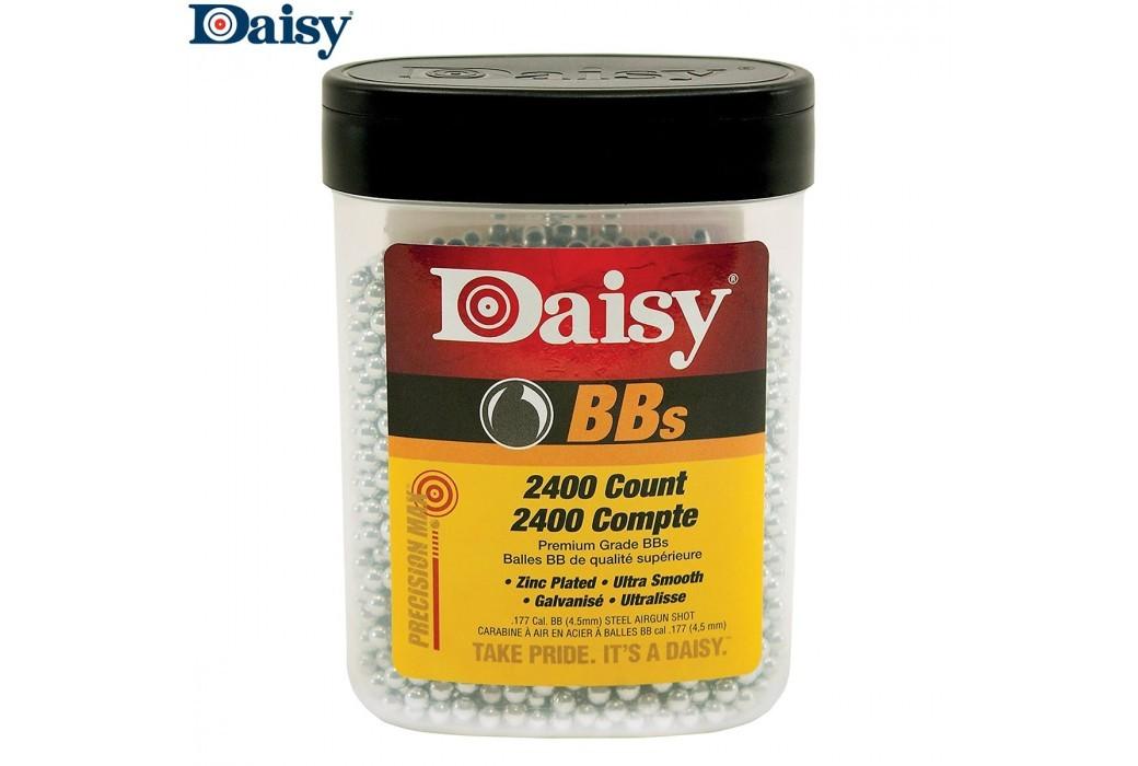 Air gun pellets DAISY Round BB STEEL 2400pcs 4.50mm