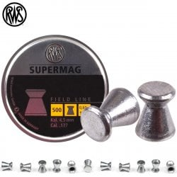 BALINES RWS SUPERMAG 4.50mm (.177) 500PCS