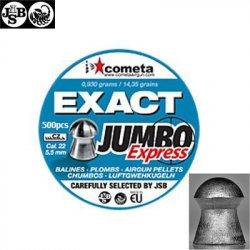 Air gun pellets JSB EXACT EXPRESS JUMBO 500pcs 5.52mm (.22)