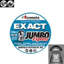 MUNITIONS JSB EXACT EXPRESS JUMBO 500pcs 5.52mm (.22)
