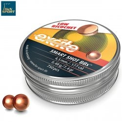 BALINES H&N BOLAS EXCITE SMART SHOT BBs 4.50mm (.177) 500PCS