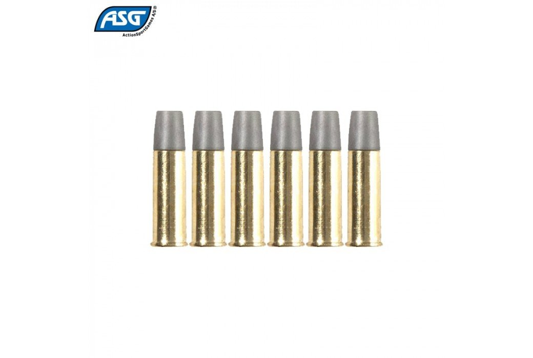 ASG SCHOFIELD 6 BALAS P/ BB'S 4.50mm