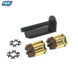 ASG DAN WESSON 715 MOON CLIP 12 MUNITIONS P/ BB'S 4.50mm