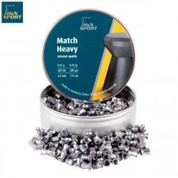 BALINES H & N MATCH HEAVY 4.50mm (.177) 500PCS