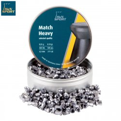 MUNITIONS H & N MATCH HEAVY 4.50mm (.177) 500PCS