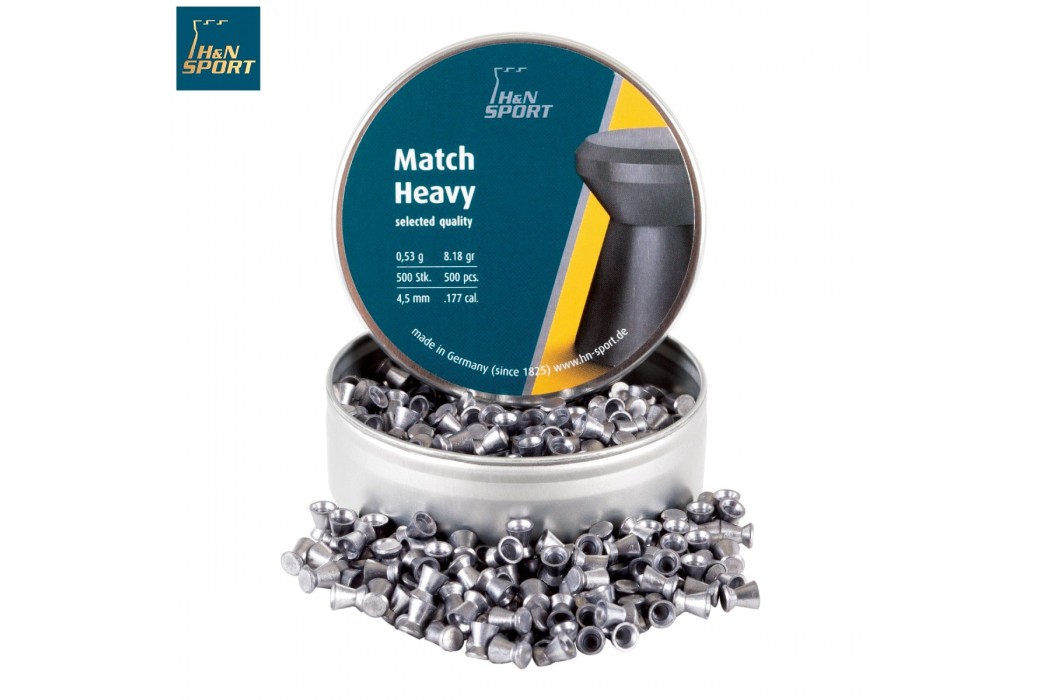 BALINES H & N MATCH HEAVY 4.50mm (.177) 500PCS