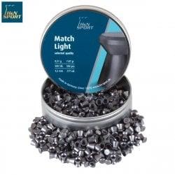 Air gun pellets H & N MATCH LIGHT 4.50mm (.177) 500PCS