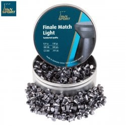 BALINES H & N FINALE MATCH LIGHT 4.50mm (.177) 500PCS