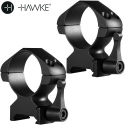 HAWKE PRECISION MONTAGENS AÇO 30mm 2PC WEAVER ALTA - SAQUE RÁPIDO