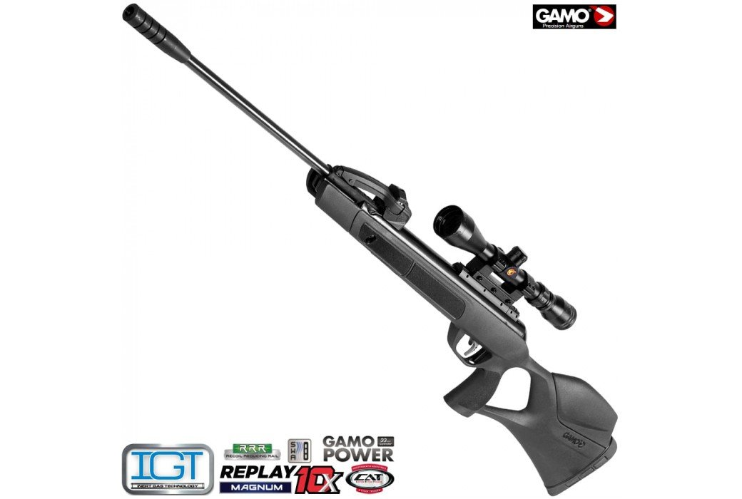 AIR RIFLE GAMO REPLAY 10 MAGNUM IGT