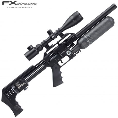 PCP AIR RIFLE FX IMPACT-X BLACK
