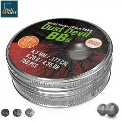 Air gun pellets H & N DUST DEVIL BBs 750pcs 4.50mm