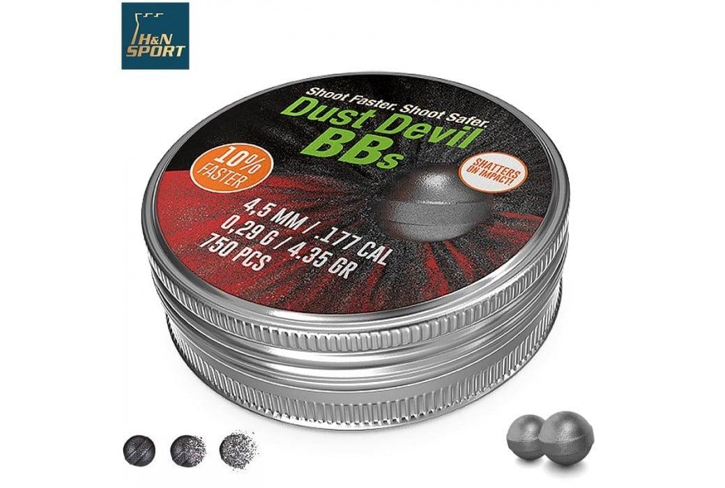 BALINES H & N DUST DEVIL BBs 750pcs 4.50mm