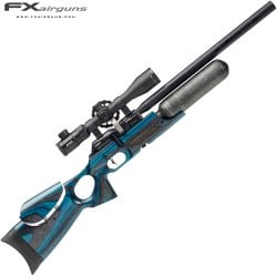CARABINA PCP FX FX CROWN BLUE LAMINATE