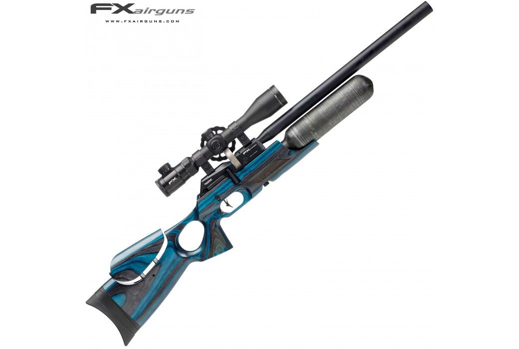 PCP AIR RIFLE FX CROWN BLUE LAMINATE