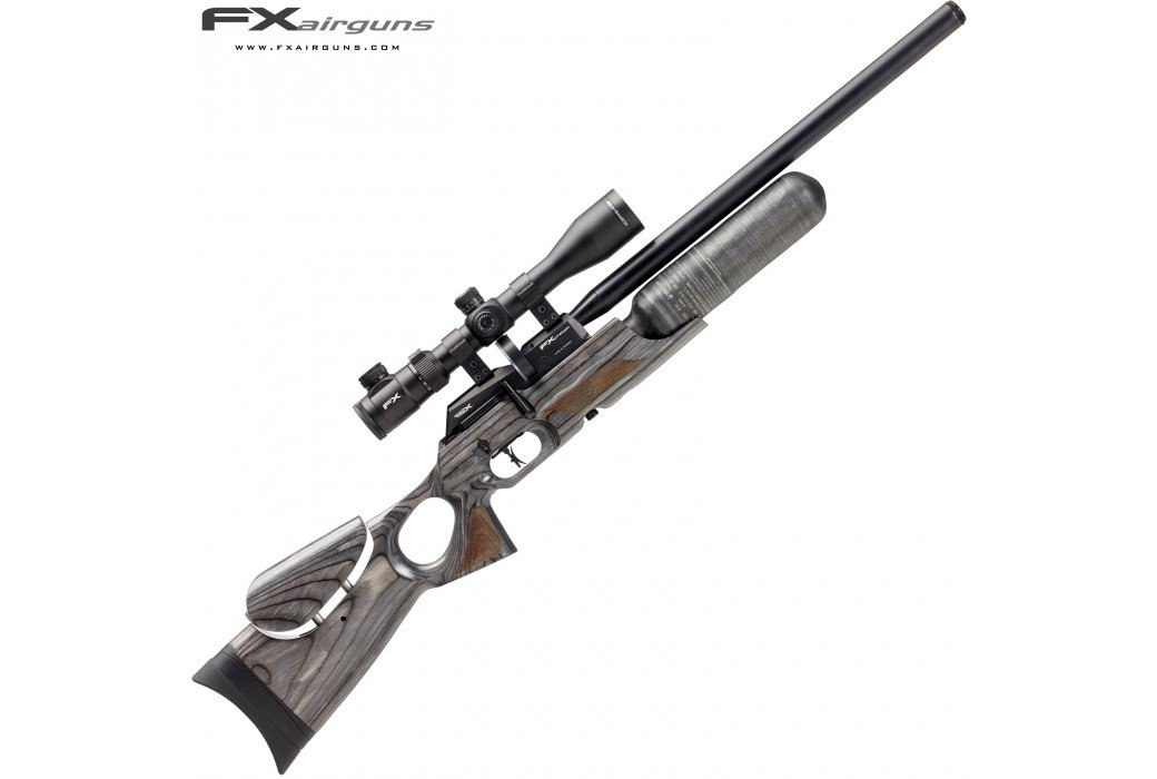 PCP AIR RIFLE FX CROWN BLACK-PEPPER LAMINATE