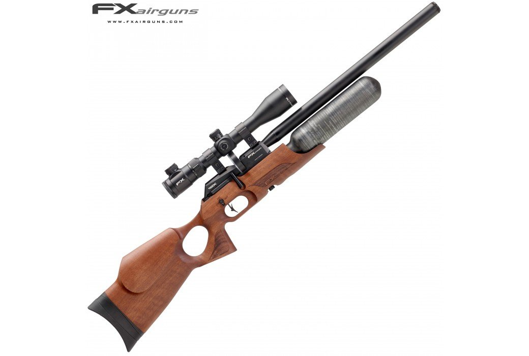 PCP AIR RIFLE FX CROWN WALNUT