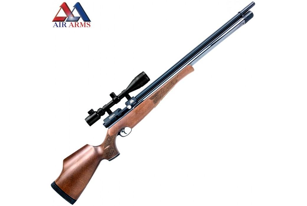 CARABINA AIR ARMS S500 XS RIFLE BEECH CLASSIC