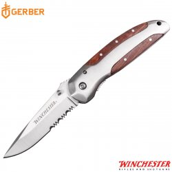 "WINCHESTER NAVAJA 3"" BRASS FOLDER"