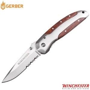 """WINCHESTER POCKET KNIFE 3"""" BRASS FOLDER"""