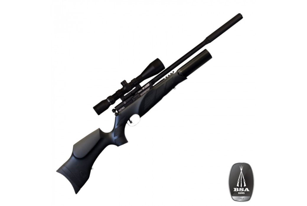 AIR RIFLE BSA PCP R10 SE BLACK