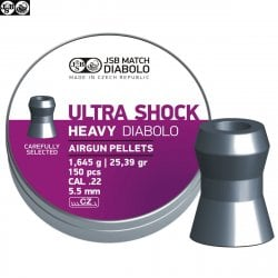 CHUMBO JSB ULTRA SHOCK HEAVY ORIGINAL 150pcs 5.52mm (.22)