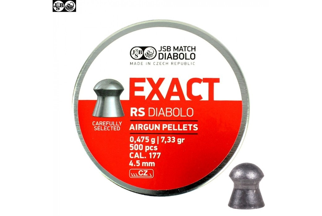 CHUMBO JSB EXACT RS ORIGINAL 500pcs 4.52mm (.177)