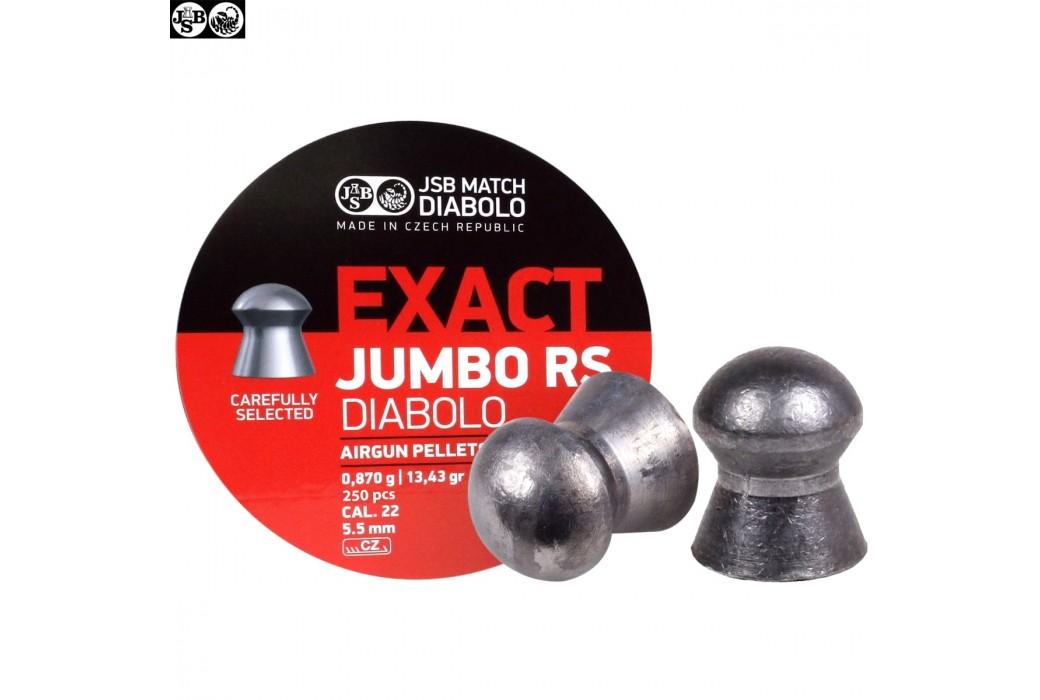 Air gun pellets JSB EXACT RS JUMBO ORIGINAL 250pcs 5.52mm (.22)