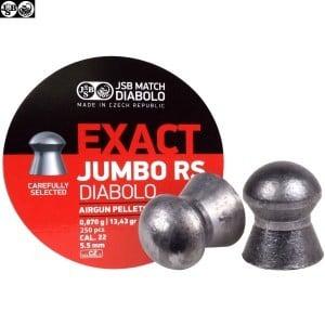 BALINES JSB EXACT RS JUMBO ORIGINAL 250pcs 5.52mm (.22)