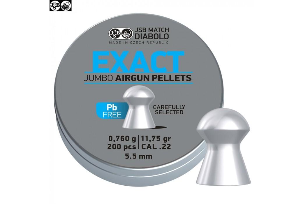 Air gun pellets JSB EXACT LEAD FREE 200pcs 5.52mm (.22)