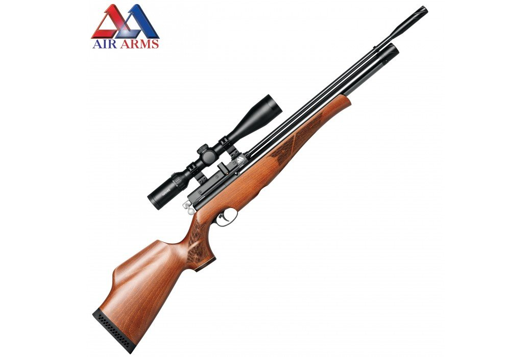 AIR RIFLE AIR ARMS S410 BEECH CLASSIC