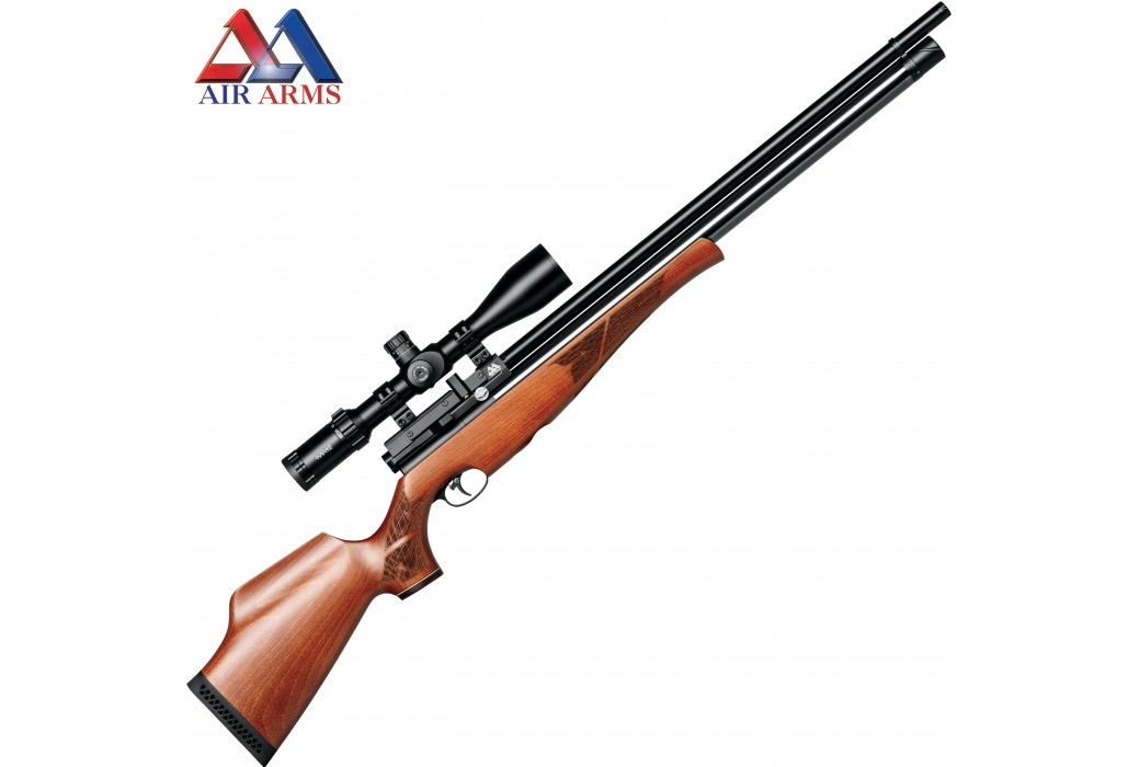 CARABINA AIR ARMS S510 XS XTRA RIFLE BEECH CLASSIC