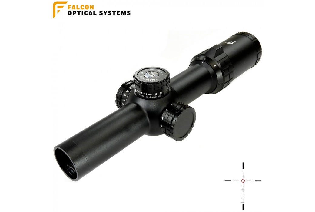 SCOPE FALCON S8i 1-8X24 MRAD B22i MilBox