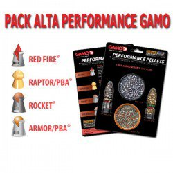 Air gun pellets GAMO PERFORMANCE PACK 4.5mm (.177)