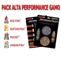 BALINES GAMO PERFORMANCE PACK 4.5mm (.177)