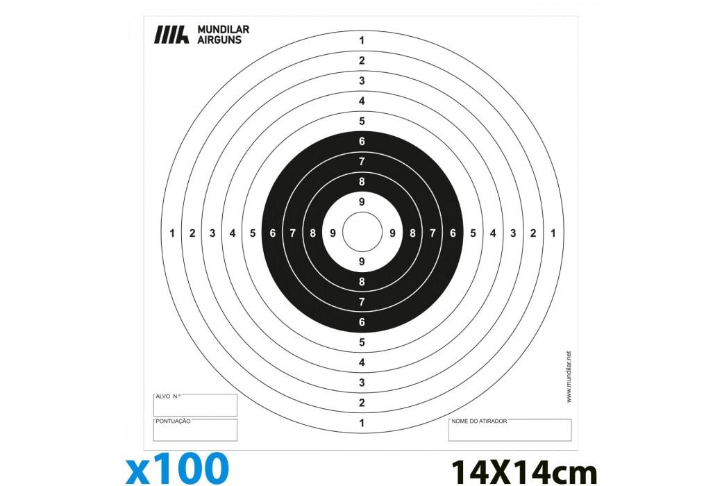 AIR GUN PAPER TARGETS 100pcs