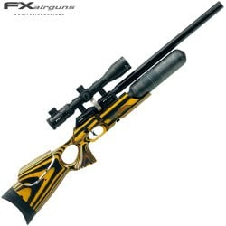 CARABINA PCP FX FX CROWN YELLOW LAMINATE