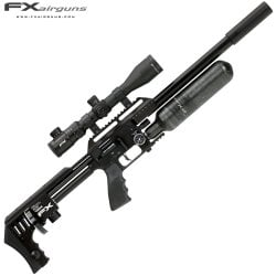 PCP AIR RIFLE FX IMPACT X MKII BLACK